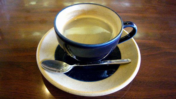 コーヒーショップ 海