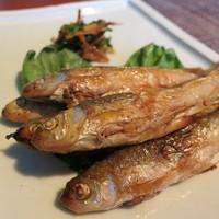 京味 - 料理写真:もろこ