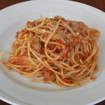 ツィオ ビットーリオ - 料理写真:自家製サルサッチャのトマトソース