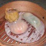 119766 - 飲茶3種 蟹シュウマイ、餃子等