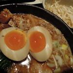 つけ麺 桜みち - 【黒味噌 全部のせ】