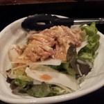 11904601 - むし鶏と大根サラダ