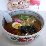 ラーメンの百番 - 昔風らーめん(630円)