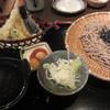 そじ坊 - 料理写真:車海老天ざるそば(おろしわさび付/\1,420-)