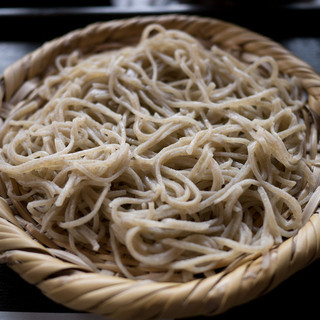 蕎遊庵 - 料理写真:石臼手挽き蕎麦