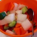 ワルンビンタン - サラダ 酢漬け