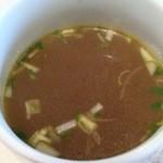 ワルンビンタン - スープ カレー風味