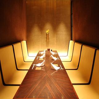 接待をはじめ各種ご宴席に個室をご用意