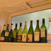 全60種類以上!各国のワインが楽しめます。