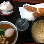 鼓亭 - 淡路島ヌードル(カレーつけ麺)