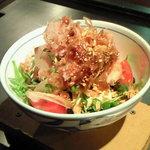 ぼちぼち - 豆腐サラダ
