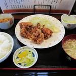 かあちゃん - 唐揚げ定食