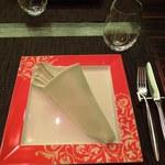 カンナ - ディナーコースの絵皿
