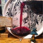 オアジカフェ - デキャンタ赤ワイン