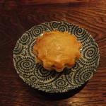ハタケマメヒコ飯店 - いちご小豆パイ