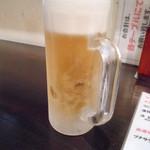 サムライ - サッポロクラシック生ビール 380円 400cc