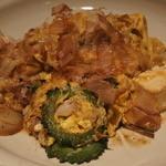 札幌ぶたやO38 - 豚肉のゴーヤチャンプル