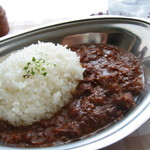 ハヤシ屋中野荘 - 名物 ハヤシライス¥550!!