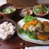 ルームカフェ - 料理写真:鮭のみそバター炒めランチ