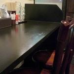 麺や 高野 - カウンター席の一部の様子