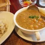 なたね - ヒヨコ豆のカレー