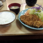 12025094 - えごま三元豚ロースカツ定食