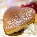 コピエ - パンケーキはハート型