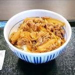 なか卯 - 和風牛丼並(290円)