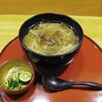 稲にわうどん 割烹 日本橋 古都里 - 特選黒毛和牛肉うどん