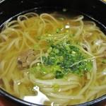 稲にわうどん 割烹 日本橋 古都里 - うどん+薬味