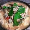 かな島 - 料理写真:カムジャタン★じゃが芋とエゴマがたっぷりのお鍋はシメに麺を入れて大満足♪