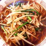 朱鳶 - 朱鳶麺750円