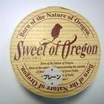 Sweet of Oregon 本店 - チーズケーキプレーンを購入しました。商品のパッケージです。(その1)