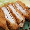 すえひろ食堂 - 料理写真:名物 上州麦ぶた 重ねトンカツ