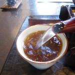 夢呆 - 「蕎麦湯」は自然体