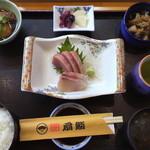 扇鮨 - 料理写真:刺身定食