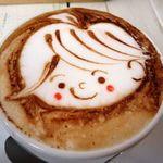 アールカフェ - カプチーノ(450円)
