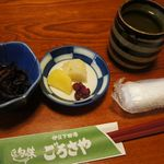 12091709 - 小鉢のひじき煮&漬物