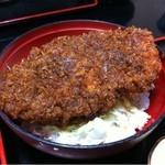 柏屋食堂 - 上名代ソースかつ丼 2012.02