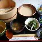 白鳥 - 料理写真:「麦とろ定食」1100円