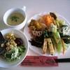 cafe JAM - 料理写真:前菜+サラダ+スープ