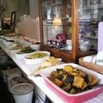 cafe JAM - 前菜のコーナー