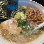ラーメン チキュウ - 醤油+海苔+メンマ
