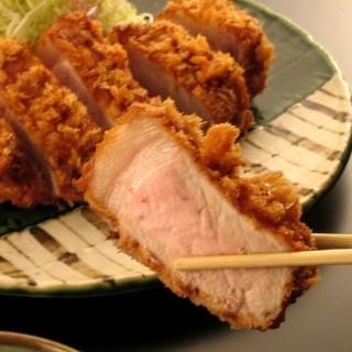 勝烈亭 - 料理写真:お薦めの厚揚とんかつをご賞味くださいませ。
