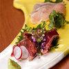 北新地うのあん - 料理写真:地鶏刺身盛合わせ 新鮮だからこそできる逸品 1800円