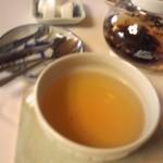 12160156 - Aコース(2800円)についている飲み物。デザートと一緒に(紅茶)