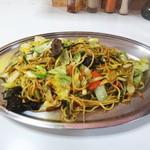 高松食堂 - たんたん焼きそば やわらかい麺