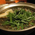 博多もつ処 煌梨 - 目黒鍋(写真は2人前)