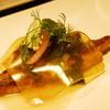 オーベルジュ・オー・ミラドー - 料理写真:イトヨリ鯛のハーブソテー、農園のネギの香り