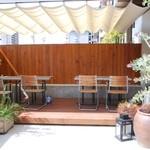 AIRSIDE CAFE - オープンテラス席